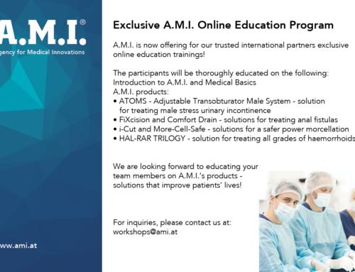 A.M.I. Online Education Program