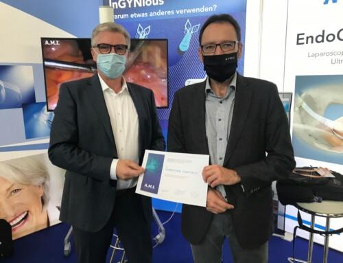 A.M.I. congratulates Dr. med. Christian Fünfgeld