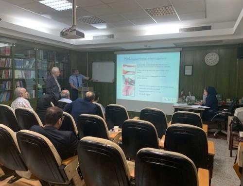Erster TRILOGY Workshop im Iran