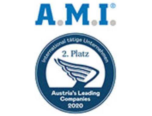 "A.M.I. achieves silver in the category ""International"" at Austria's Leading Companies Award (ALC)"